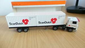 HB33: Early Tekno 1:50 Scale Volvo ScanDutch Container Truck