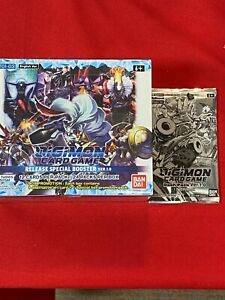 Digimon Card Release Special Booster Box Ver 1.0 English BT01-03,w/ bonus Pack