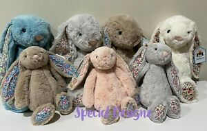 Personalised Jellycat bunny - Small and Medium