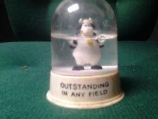 """Outstanding In Any Field"" Cow Snowglobe"