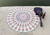 Indian Round Mandala Tapestry Wall Hanging Beach Throw Yoga Mat Bohemian Decor