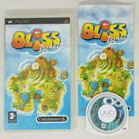 BLISS ISLAND  - Rare Sony PSP Game VGC