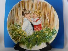 """Cute Vintage """"Be My Friend"""" Wedgewood England Signed Plate"""
