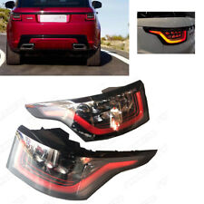 Pair LED Rear Tail Light Lamp For Land Rover Range Rover Sport 2013-2017 L+R Red