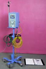 CareFusion ViaSYS Infant Flow SIPAP Ventilator Machine w/ IV Pole Stand & Hoses