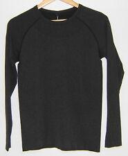 NWT Footjoy Ladies Body Mapped Base Layer Golf Shirt, Charcoal, Medium, 24641