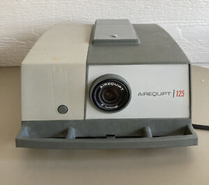 Vintage Airequipt 125 Slide Projector 2 x 2 Tested Working Unit