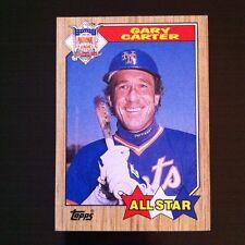 1987 Topps GARY CARTER  #602  New York Mets
