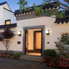 Waterproof Wall Light Porch Patio Wall Sconce Lamp Lantern Fixture Garden Modern