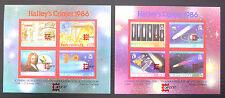 Montserrat con venta 1987 Halley's Comet gastos de capital I M/S (2) X 50 U/M ver abajo.. FP1171