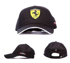 Scuderia Ferrari F1 Official Quilt Stitch Cap - Black - Adults - clearance