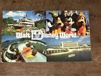 Vintage 1980s WALT DISNEY WORLD Postcard