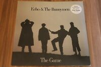 """Echo & The Bunnymen - The Game (1987) (12"""" incl. poster) (248317-0, YZ 134T)"""