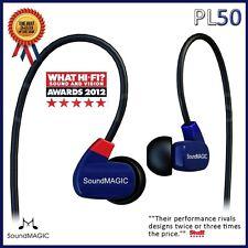 Soundmagic PL50 Balance Armature hifi in ear earphones IEM BLUE