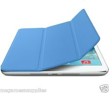 Blue iPad 2 3 & 4 Slim Magnetic Smart Cover with WakeUp / Sleep & Stand Case