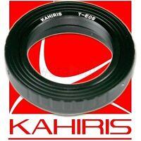 KAHIRIS T2 EOS - Bague d'adaptation objectif T2 vers boitier Canon EOS / EF