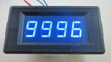 Blue DC 24V 4 Digit Digital LED Counter Panel Meter Up and Down Totalizer 0-9999
