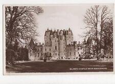 Glamis Castle Kirriemuir 1949 RP Postcard 202a