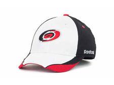 Carolina Hurricanes NHL 7th Man Reebok White Player Flex Hat Cap Lid S/M Hockey
