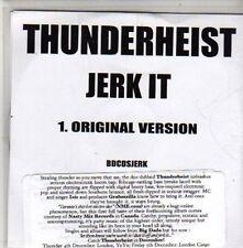 (CB922) Thunderheist, Jerk It - 2008 DJ CD