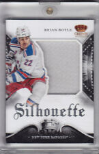 2013-14 CROWN ROYALE BRIAN BOYLE PATCH SILHOUETTE #S.BYL