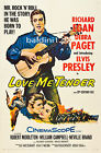 ELVIS PRESLEY - LOVE ME TENDER - HIGH QUALITY VINTAGE MOVIE/MUSIC POSTER