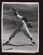 Original 1956 Johnny Kucks New York Yankees Wire Photo
