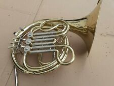 More details for elkhart 100bfh french horn, no mouth piece, good but need servicing