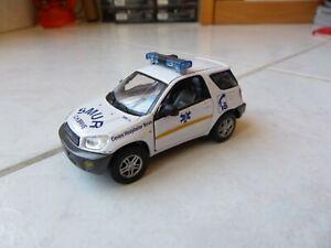 Toyota RAV4 200 SMUR SAMU Brive médecin Hongwell 1/43 Miniature RARE