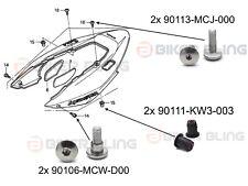 Honda VFR800 VTEC RC46 2002-2013 4x rear fairing shouldered bolts 4x well nuts
