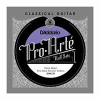 D'Addario Pro-Arte Clear Nylon Classical Guitar Half Set, Extra Hard Tension