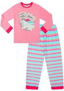 Cute Girl's in Your Wildest Dreams Unicorn Pink Long Pyjamas