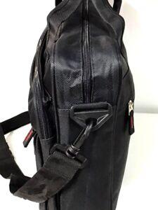 Zipped Document Laptop Messenger Shoulder Bag Briefcase Work Travel Office Strap