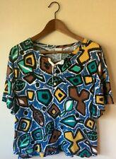 Vintage 80s Benetton Shirt. Slightly Shorter In The Front.
