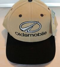 NEW Oldsmobile Snapback Hat Cap Tan Trucker Adjustable automobile GM