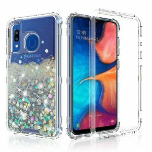 Samsung Galaxy A20 A30 A50 Case, Triple Layer Heavy Duty Shockproof Phone Cover