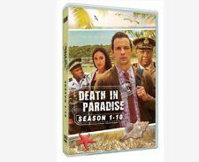 Death in paradise dvd complete series season 1-10 1 2 3 4 5 6 7 8 9 10 dvd