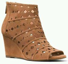 MICHAEL Michael Kors® Uma Wedge Casual Heels Size 9.5 Color Acorn MSRP $150
