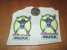 VINTAGE SKELETOR PATCH SWEET LOOKING 2.5 INCHES  IRON ON RARE