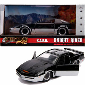 "JADA 1/32 KARR K.A.R.R. ""KNIGHT RIDER"" TV 1982 PONTIAC FIREBIRD OPENING DOORS"
