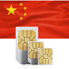 China (incl. Hongkong & Macao) Prepaid Daten SIM + 5 GB für 30 Tage