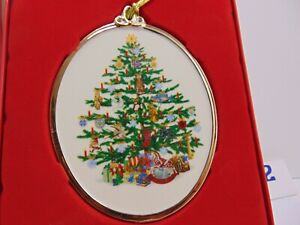 Lenox 2020 trees around the world  Annual Christmas Ornament New in Box