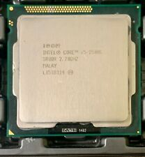 Quad-Core Intel Core i5-2500S CPU 2.7GHz6 MB Cache SR009 LGA1155 H2 Processor