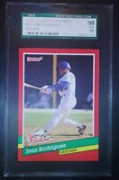 1991 Donruss Rookies IVAN RODRIGUEZ Graded SGC 98 GEM MINT 🔥📈 Like PSA 10 ⚾🔥