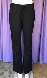 CHAMPION Duo-Dry Activewear Full-Leg Black Pants Size M