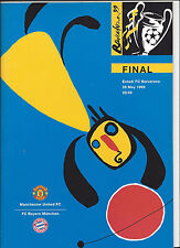 FINALE Champions League 1999: BAYERN - MANCHESTER UNITED, 26.05.1999 Barcelona