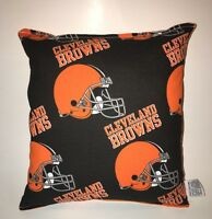 Browns Pillow NFL Pillow Cleveland Browns Pillow Football Pillow HANDMADE IN USA