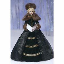 * Superbe * Barbie Collection Porcelaine Holiday Caroler * NEUVE *