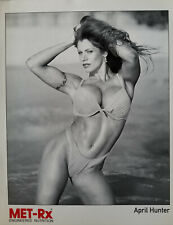 April Hunter  Black and White Met RX 8X10 Signed & personalized