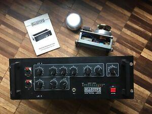 Allsound 4003 Federhall Spring reverb Disk Scheiben Echo Space Dub Tape Vintage